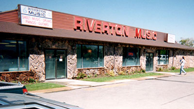 Riveton Music Store in Utah