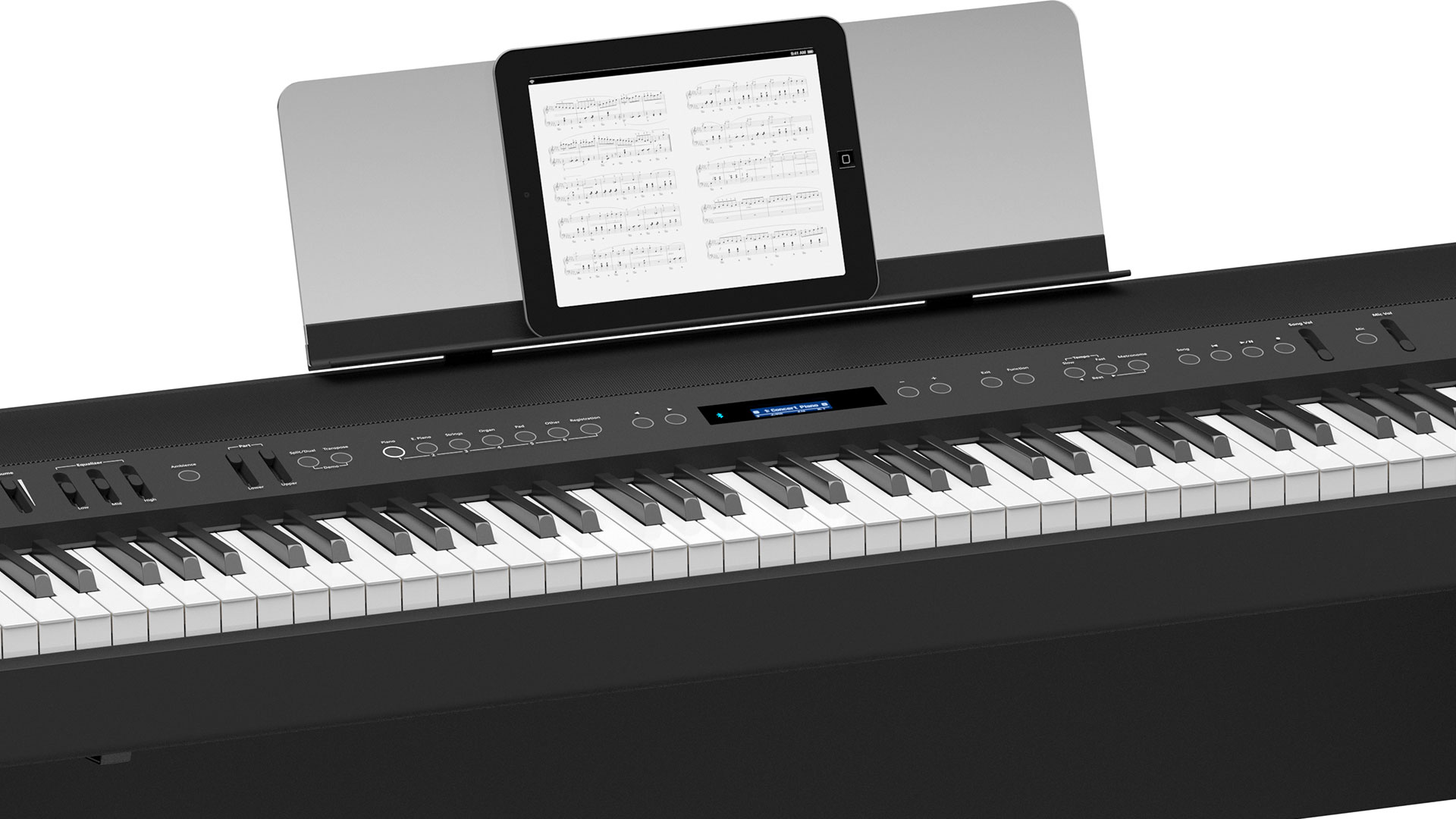 roland fp 90 digital piano buy online roland digital pianos electronic piano electric. Black Bedroom Furniture Sets. Home Design Ideas
