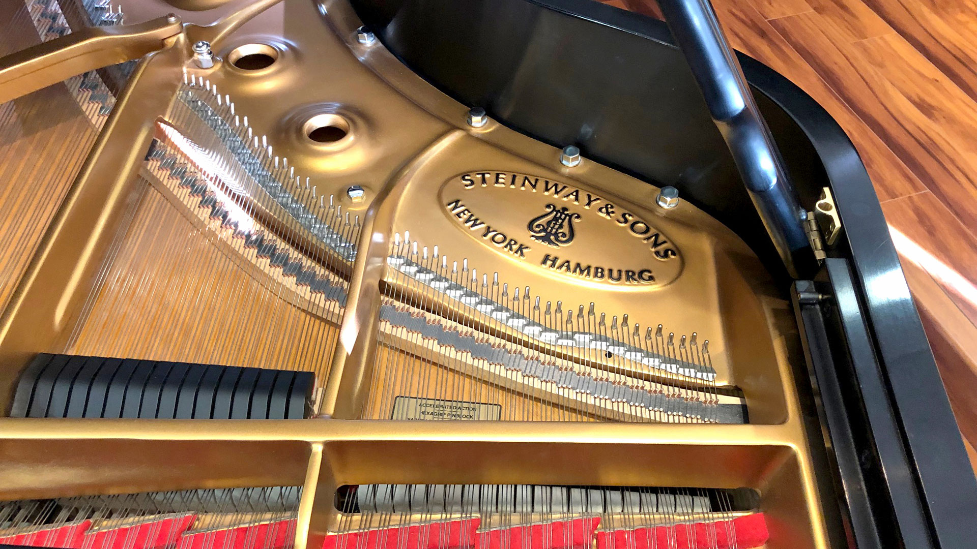 Model B Steinway Used Piano