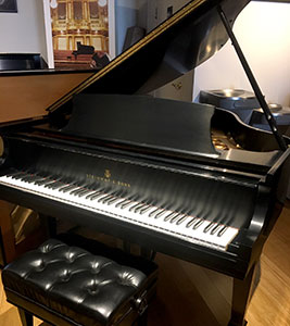 Model S Used Steinway Baby Grand Piano