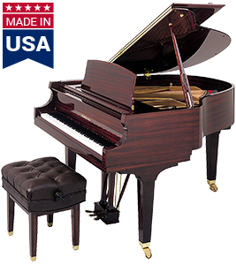 M1 American Baldwin Baby Grand Piano