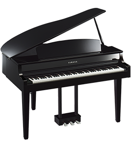 CLP-665 GP Yamaha Clavinova at Riverton Piano Company