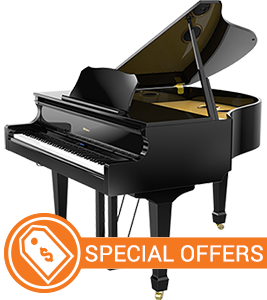 Roland GP-609 Digital Baby Grand Piano