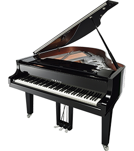C2X Chrome Yamaha Grand Piano