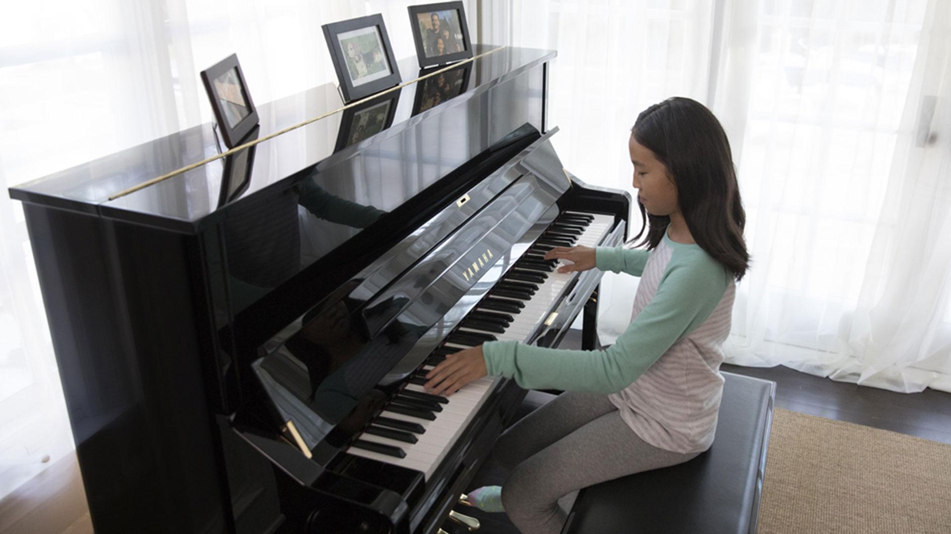 Yamaha U1 Studio Upright Piano   Riverton Piano in Peoria, AZ