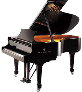 The Schumann GP-152 Baby Grand Piano